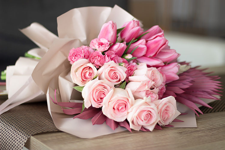 Valentin-napi virágcsokor