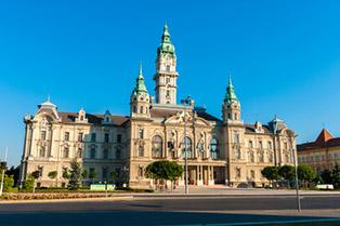 Győri társkeresők kedvenc helye a Városháza