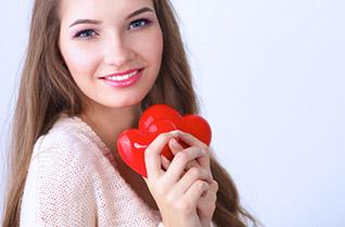Kaposvár - Lány szívvel