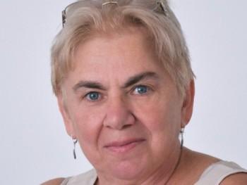 székelyné 71 éves társkereső profilképe