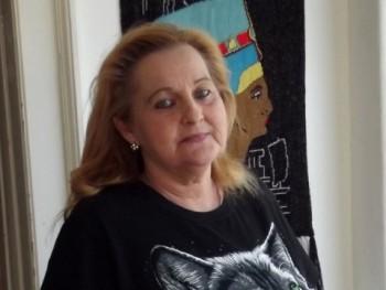 Judí Black 64 éves társkereső profilképe