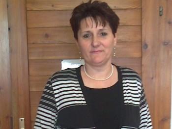 nő 58 éves társkereső