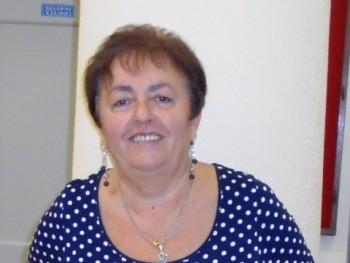 Erzsi58 62 éves társkereső profilképe