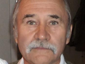 Pucus 70 éves társkereső profilképe