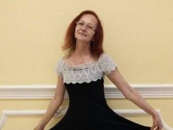 Judit Angyal 67 éves társkereső profilképe