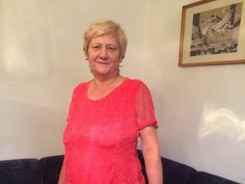 Bércesi Ilona 63 éves társkereső profilképe