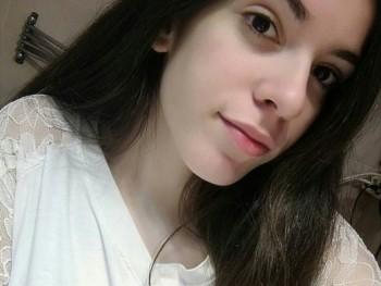 Varga Tímea 19 éves társkereső profilképe
