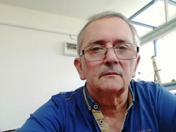 64 éves férfi keres nőt