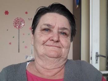Alföldi Mária 66 éves társkereső profilképe