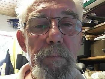 konyvtaros 68 éves társkereső profilképe