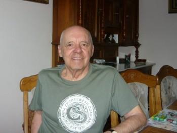 ATANÁZ 83 éves társkereső profilképe