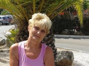Margaréta Margit 65 éves társkereső profilképe