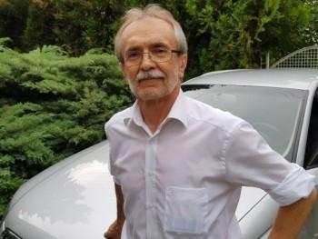 Claude 64 éves társkereső profilképe