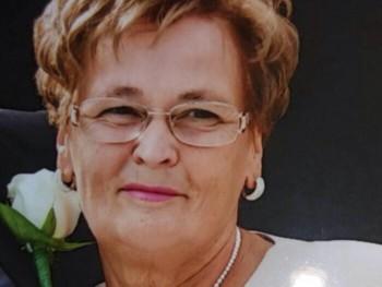 Kissné Zsuzsa 63 éves társkereső profilképe