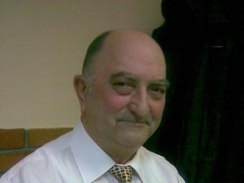 Paolo 75 éves társkereső profilképe