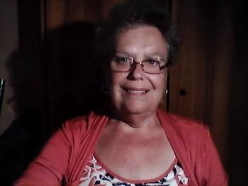 Margitka 63 éves társkereső profilképe