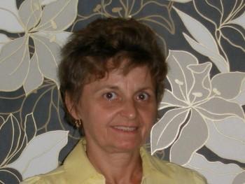 Edina 58 éves társkereső profilképe
