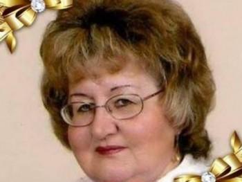 Begezi Vilma 75 éves társkereső profilképe