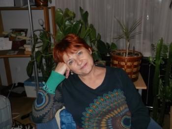 Beruska 60 éves társkereső profilképe