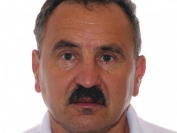 Gellért József 63 éves társkereső profilképe