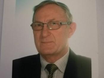 SándorP 72 éves társkereső profilképe