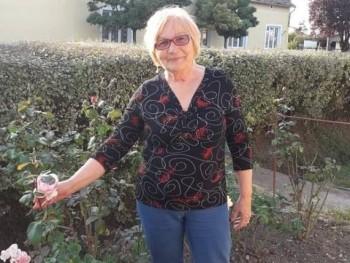 Irénke 51 69 éves társkereső profilképe