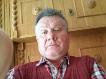 Középkorú 60 éves társkereső profilképe