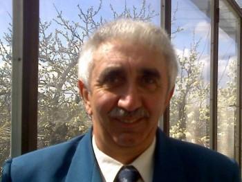 Krisztián István 62 éves társkereső profilképe