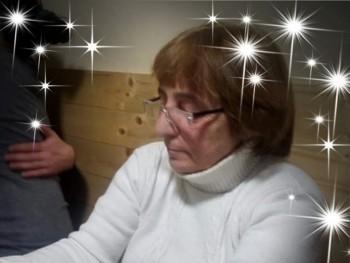 Betina 65 éves társkereső profilképe