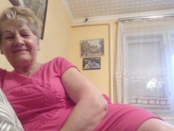 Jutka - társkereső Gógánfa - 67 éves nő ()