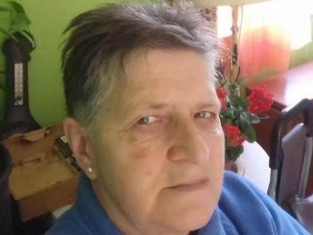 Bocika 70 éves társkereső profilképe