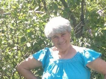 Zsóka Jakabné 74 éves társkereső profilképe
