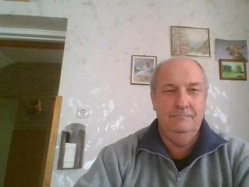 Rezső 60 éves társkereső profilképe