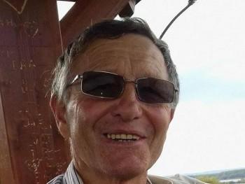 kézmüves 69 éves társkereső profilképe