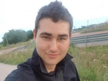 Dávidd 25 éves társkereső profilképe