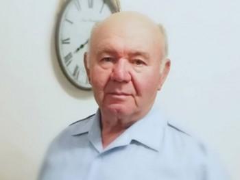 István Ábrahám 74 éves társkereső profilképe