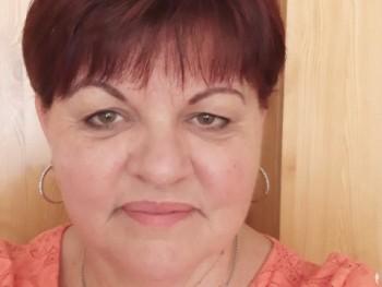 Éva555 57 éves társkereső profilképe
