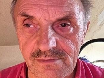 Bernáth Sándor 67 éves társkereső profilképe