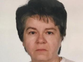 CIMA 75 éves társkereső profilképe