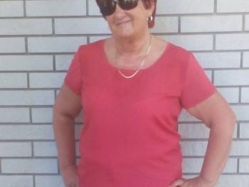 Nagy Erzsébet 67 éves társkereső profilképe