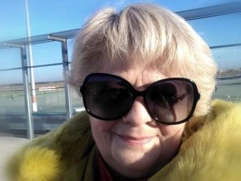 Kállai Gizella 62 éves társkereső profilképe