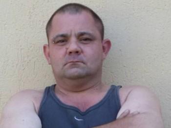 Deske 40 éves társkereső profilképe