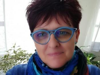Tünde-Éva 55 éves társkereső profilképe