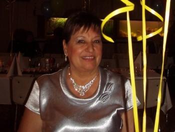 Marácska 73 éves társkereső profilképe