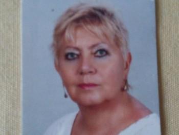 Németh Erzsébet 71 éves társkereső profilképe