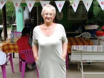 Óvónéni 64 éves társkereső profilképe
