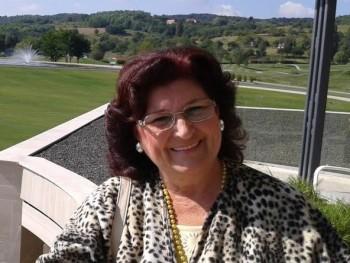 Katalina 68 éves társkereső profilképe