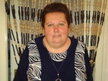Horváth piroska 58 éves társkereső profilképe