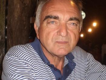 Huncut 68 éves társkereső profilképe